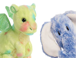 All of our Aurora Soft Toys