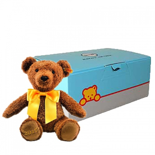 Steiff Cosy Year Bear 2017 Soft Teddy Gift Boxed