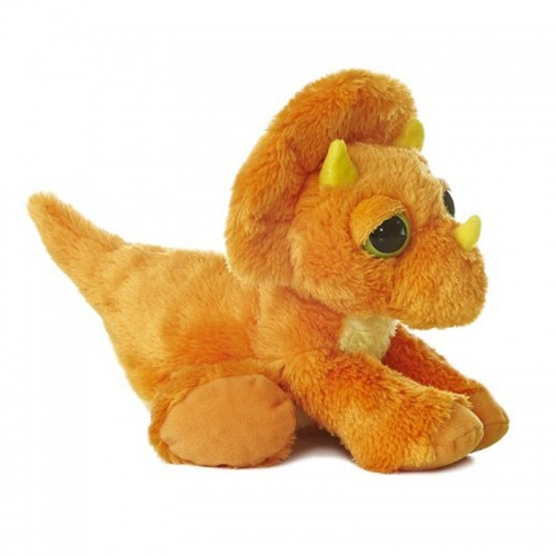 Aurora Dreamy Eyes Triceratops Plush Soft Toy