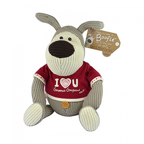 Boofle Large 10'' Gorgeous Girlfriend Bear in T-Shirt