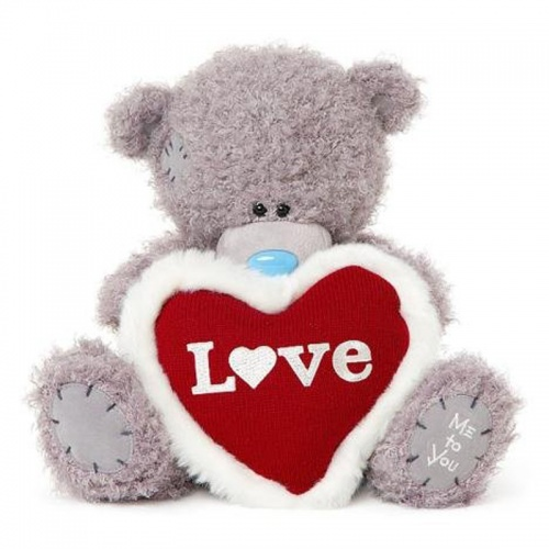 12'' Padded Love Heart Me to You Bear