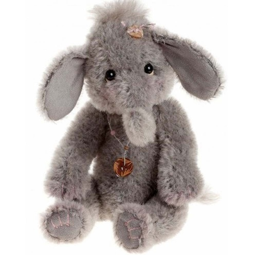 Charlie Bears Isabelle Collection Trumpette Mohair Elephant