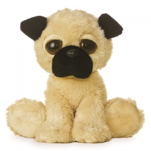 Aurora Dreamy Eyes Pug Soft Toy