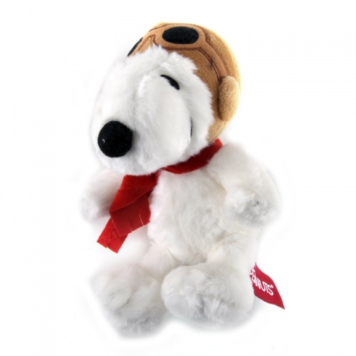 Aurora Peanuts 7.5-Inch Snoopy Pilot Soft Toy