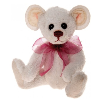 Charlie Bears Keyring - Wool Mouse