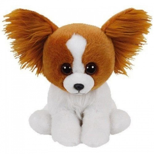 TY Beanie Babies Barks The Dog Soft Toy