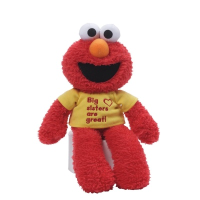 GUND Sesame Street Elmo Big Sisters Are Great T-Shirt Teddy