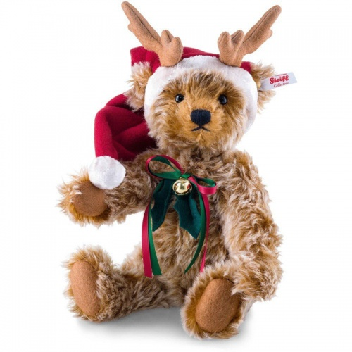 Steiff Mohair Reindeer Teddy Bear Limited Edition