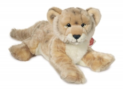 Teddy Hermann Lioness lying Plush Soft Toy Animal