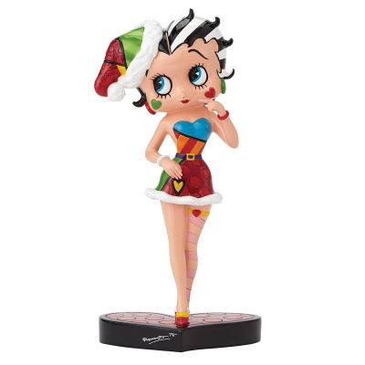 Betty Boop by Britto ''In Santa Outfit'' Figurine