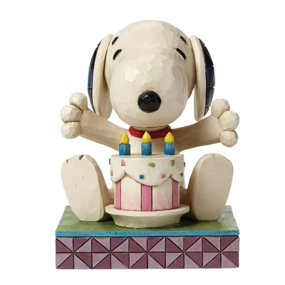 Happy Birthday Snoopy Figurine