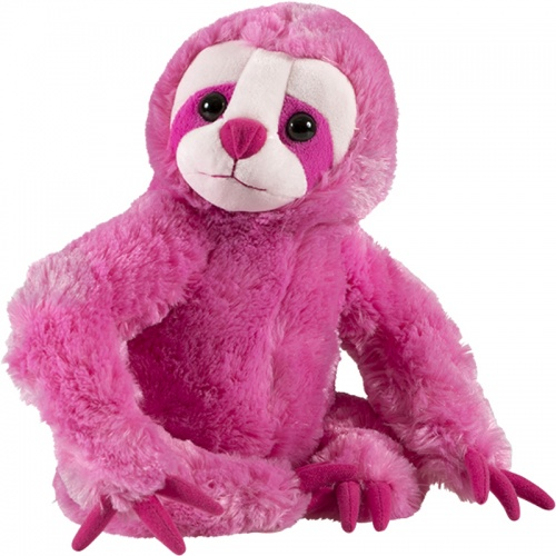 Petjes Girly Sloth Pink Soft Toy
