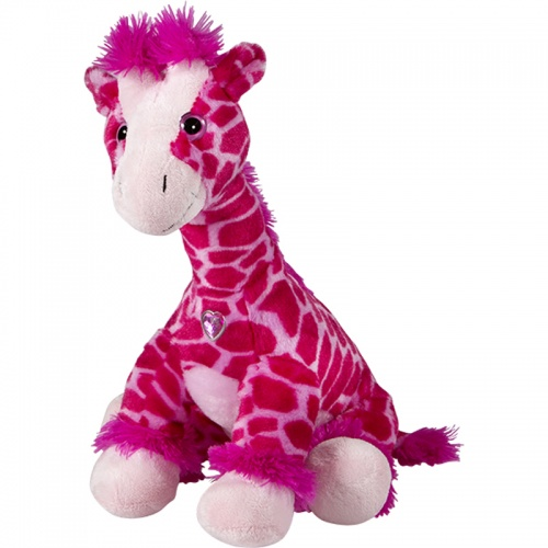 Petjes Girly Giraffe Pink Soft Toy