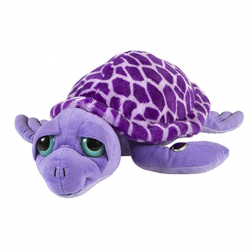 Petjes Girly Turtle Purple Soft Toy