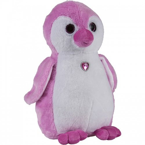 Petjes Girly Penguin Chick Pink Soft Toy