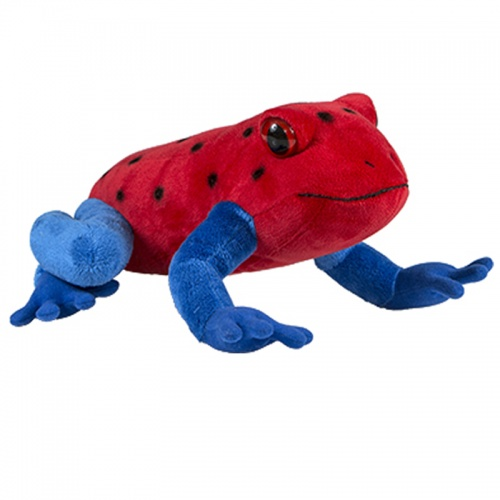 Petjes Stawberry Poison Dart Frog Soft Toy