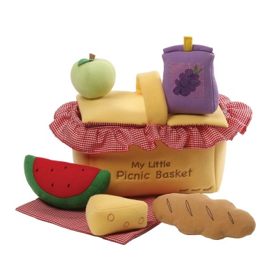 Gund My First Picnic Basket Playset