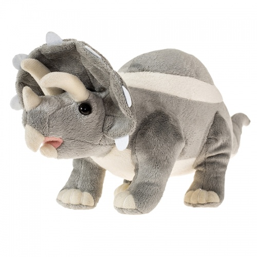 Petjes Triceratops Small Soft Toy
