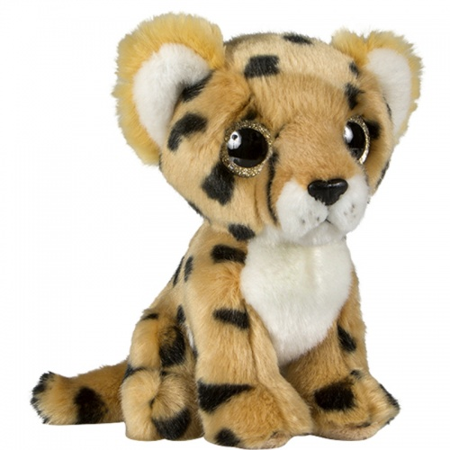 Petjes Glitter Eyes Cheetah Soft Toy