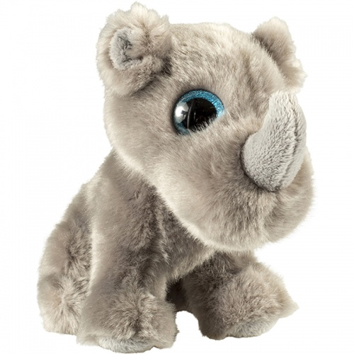 Petjes Glitter Eyes Rhino Soft Toy