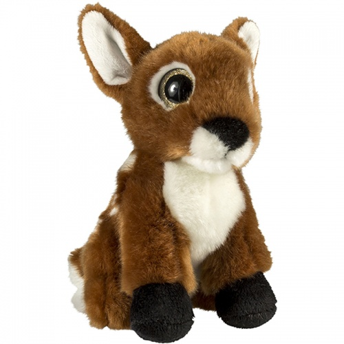 Petjes Glitter Eyes Deer Soft Toy