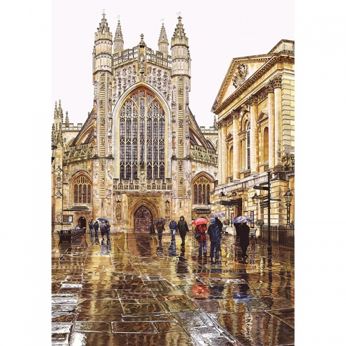 Wentworth Bath Abbey 250 Piece Laser Cut Wooden Jigsaw Puzzle