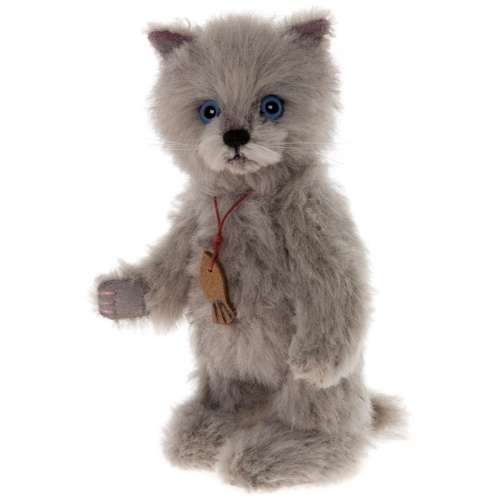 Charlie Bears Minimo Blue The Cat Mohair Soft Toy Animal