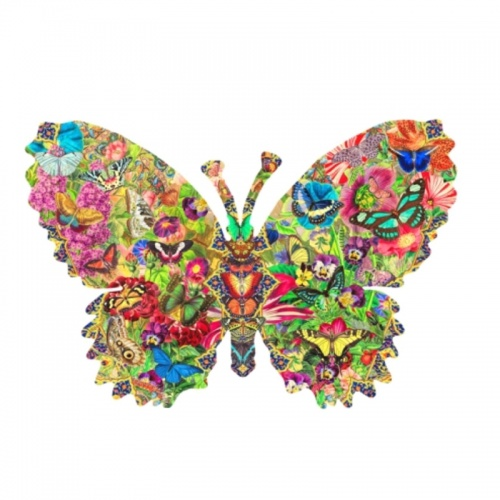 Wentworth Butterfly 210 Piece Laser Cut Wooden Jigsaw Puzzle