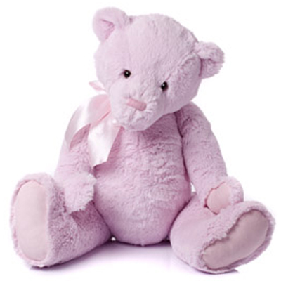 My First Charlie Bear Small in Pink