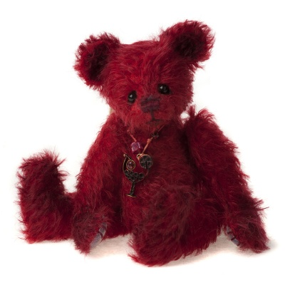 Charlie Bears Minimo Cherry 2013 Mohair Teddy Bear