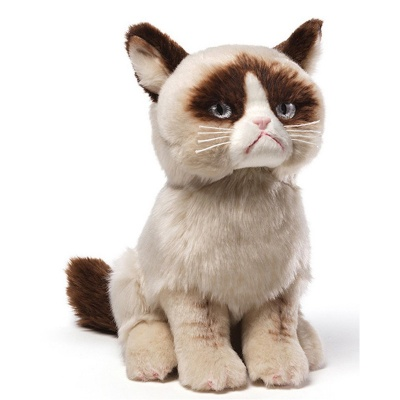 Gund Grumpy Cat Plush Soft Toy Animal