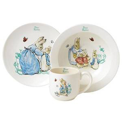 Peter Rabbit 3 Piece Nursery Set
