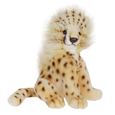Hansa Sitting Cheetah Cub Soft Toy