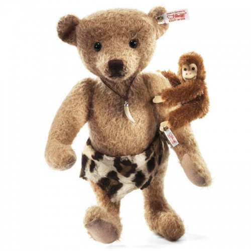 Steiff Johnny and Jocko Limited Edition Mohair Teddy Bear