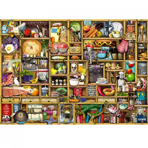 Wentworth Kitchen Cupboard 250 Piece Laser Cut Wooden Jigsaw Puzzle
