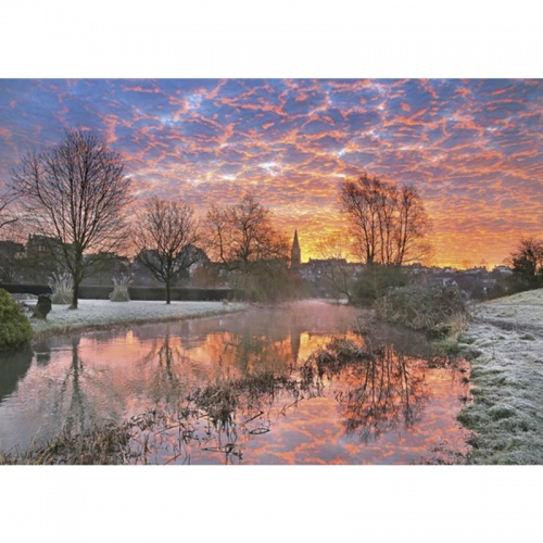 Wentworth Lava Sky 250 Piece Laser Cut Wooden Jigsaw Puzzle