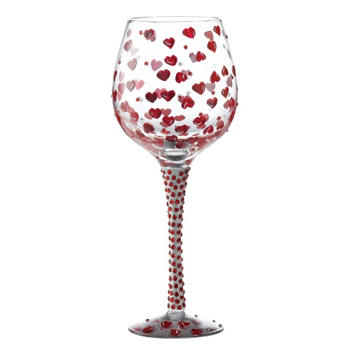 Lolita ''Superbling Red Hot'' Wine Glass
