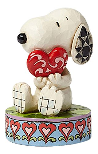 Peanuts I Love You Snoopy with Heart Figurine By Jim Shore