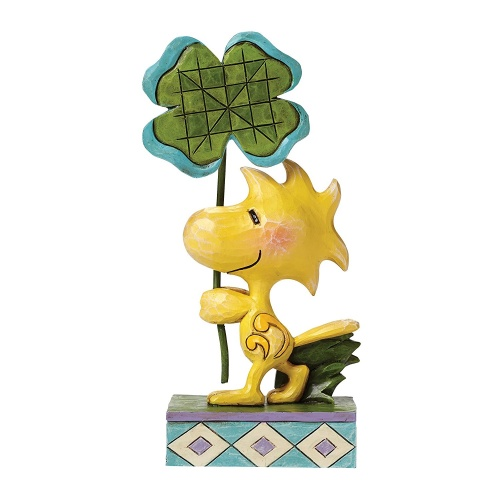 Peanuts Woodstock with 4 Leaf Clover Figurine By Jim Shore