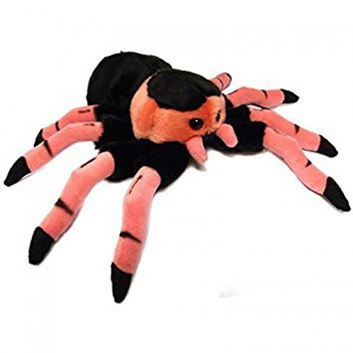 Dowman Pink Spider Plush Soft Toy Spider