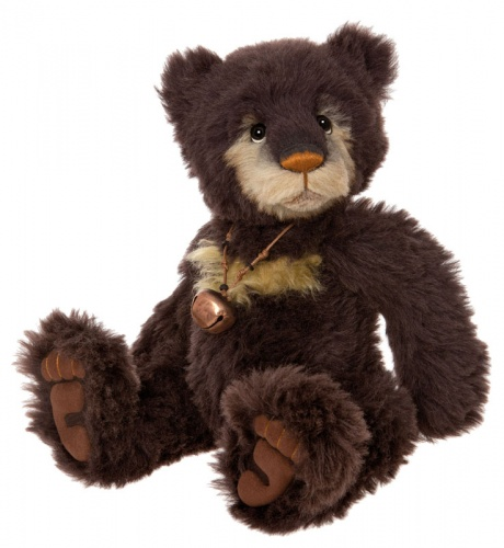 Charlie Bears Isabelle Collection Pumpernickel Mohair Teddy