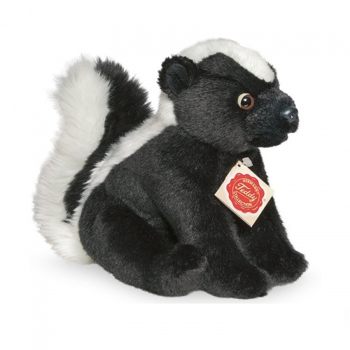 Teddy Hermann Sitting Skunk Plush Soft Toy