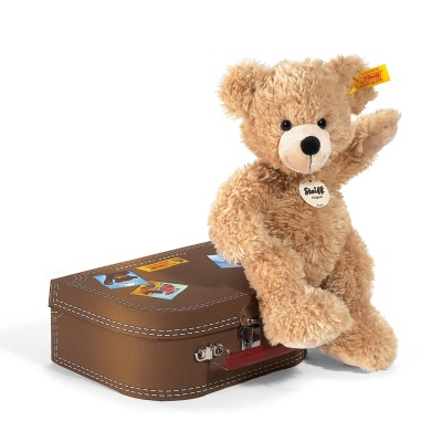 Steiff Fynn Teddy Bear in a Suitcase Plush Teddy