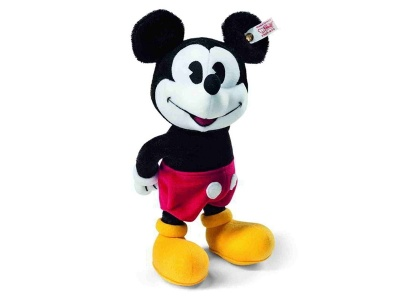 Steiff Mickey Mouse Stuffed Toy Animal