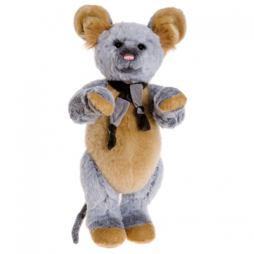 Charlie Bears Scaredy Cat 2016 Mouse