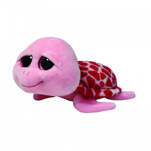 TY Beanie Boo Shelby Pink Turtle