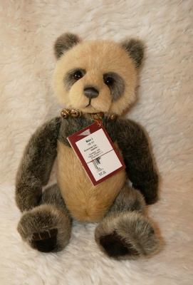 Charlie Bears Soo Lee 31cm Plush Teddy Bear With Damaged Tag