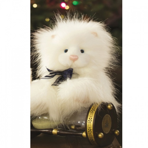 Charlie Bears Winter Wonderland Sparkles Kitty