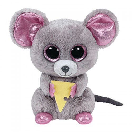 TY Squeaker the Mouse Beanie Boo