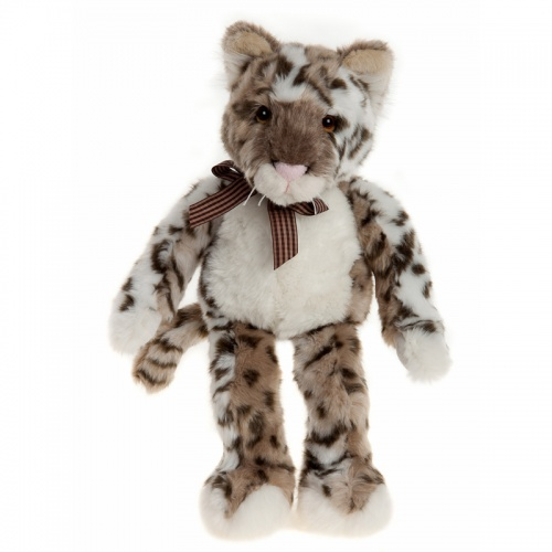 Charlie Bears Bearhouse Stanley Snow Leopard
